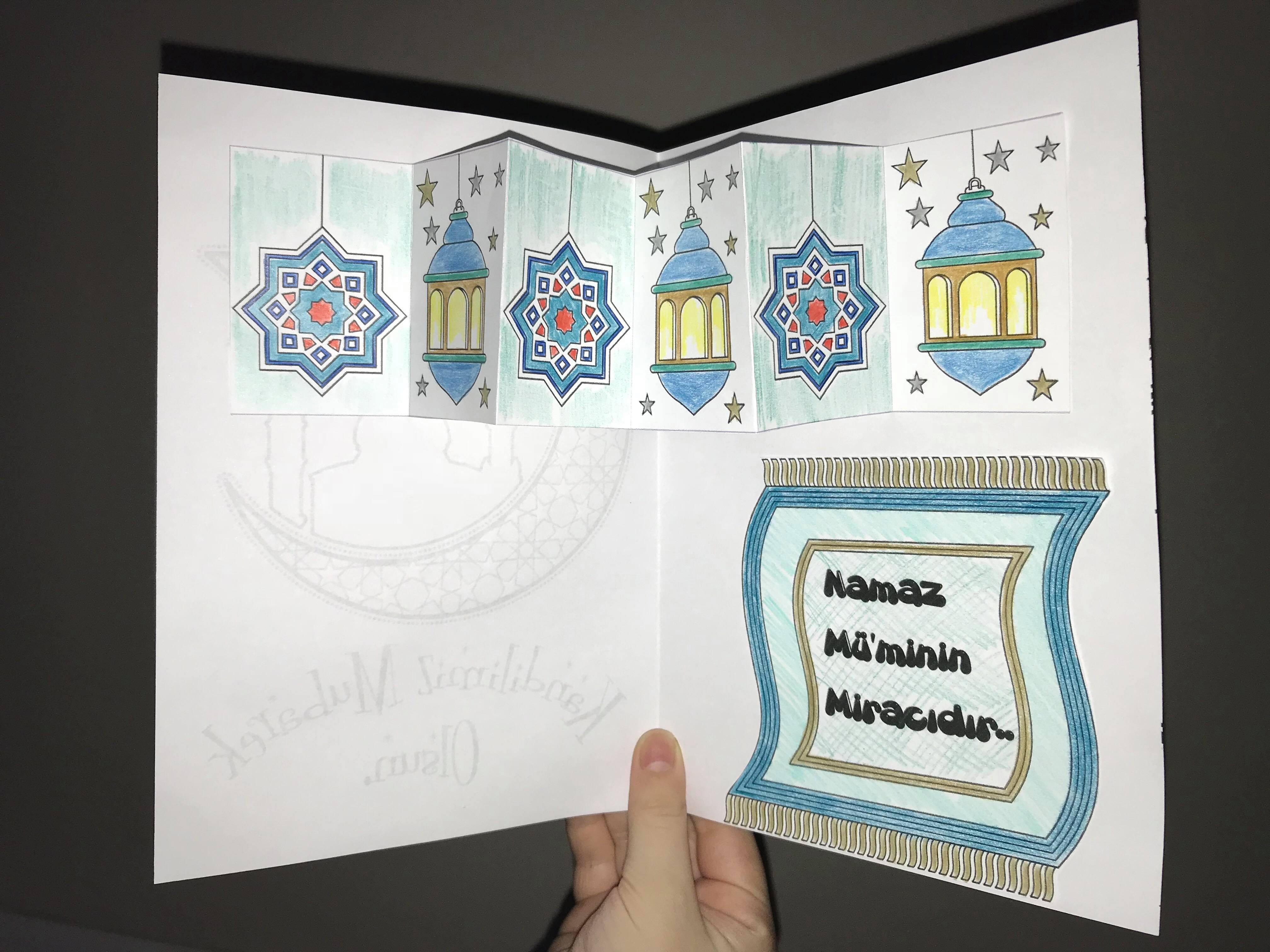 Kandil Karti Cocuk Ve Islam