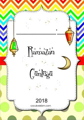 Ramazan Gunlugu kapak