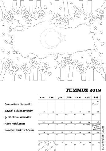 Temmuz Takvimi Cocuk Ve Islam