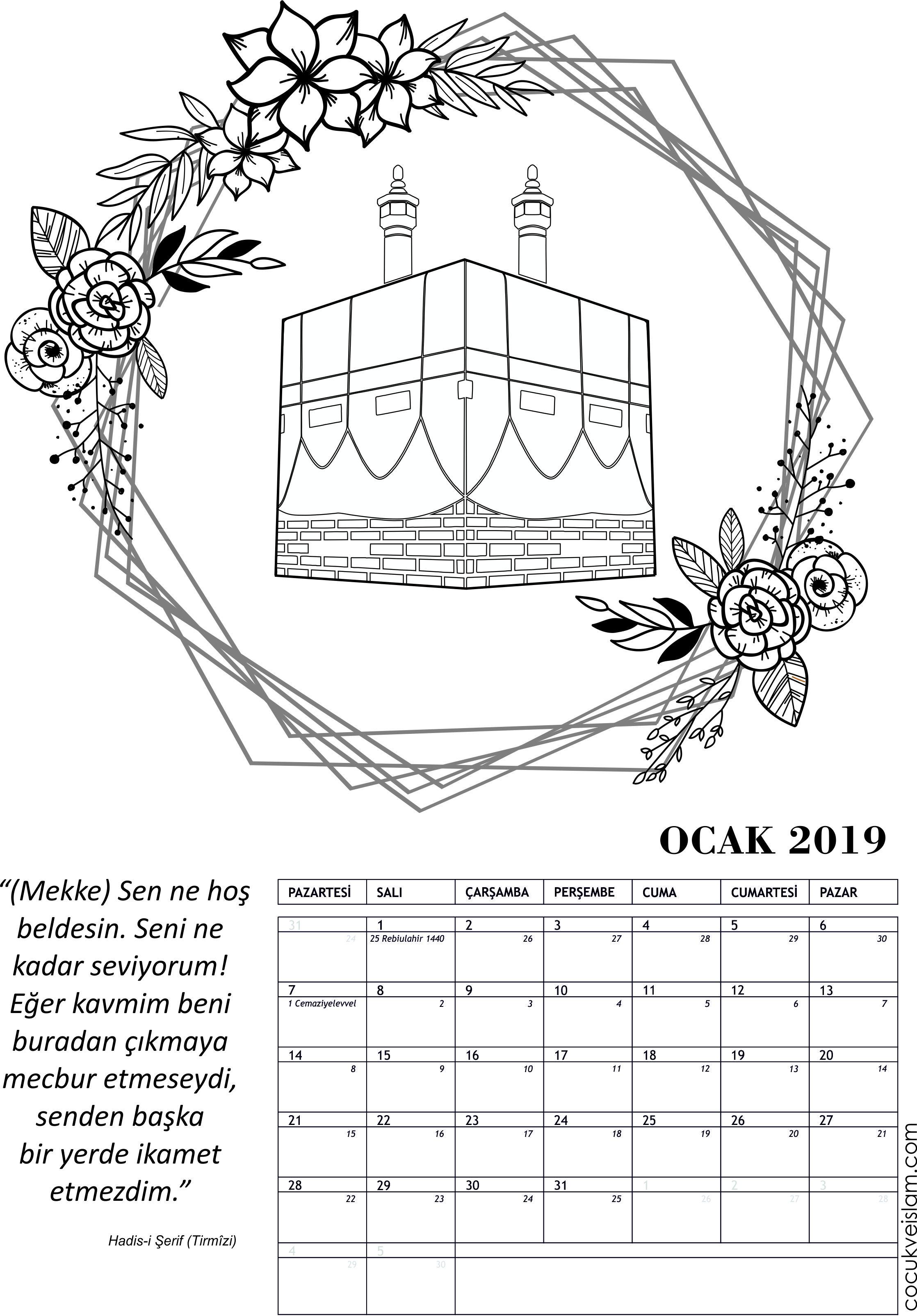 Ocak 2019 Tema Mekke Nin Fethi Cocuk Ve Islam